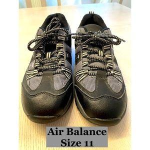 Air Balance Black & Gray Sneakers Sz 11